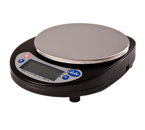 Globe GPS5 Digital Portion Scale, 5 lbs Capacity, Removable Platform & Plastic Bowl Included
