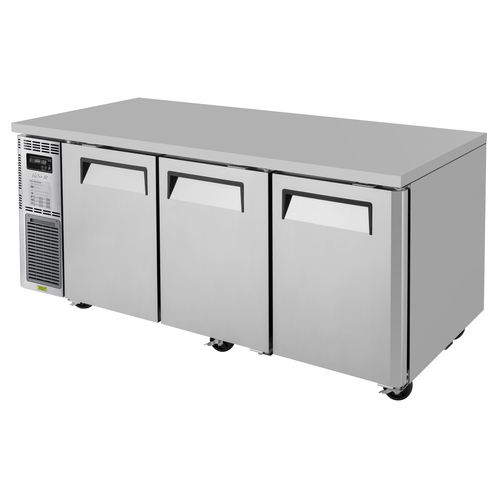 J Series Side Mount Undercounter Refrigerator three-section