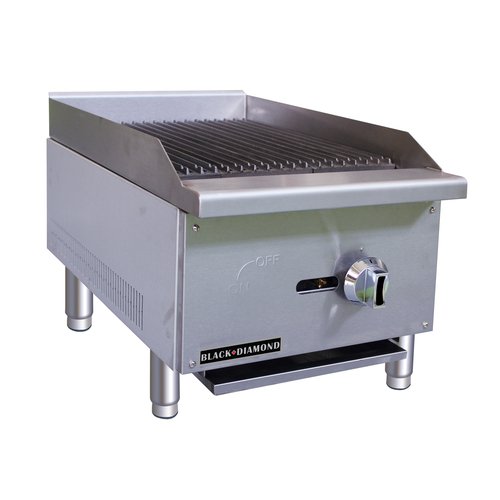 AdCraft BDECTC-16/NG Radiant Charbroiler, 16 FREE SHIPPING