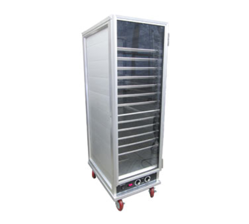 AdCraft PW-120 Heater Proofer Cabinet, Full Size, Non-Insulated, 36 Pan Capacity, Lexan Door