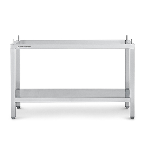 Oven Stand open with storage shelf