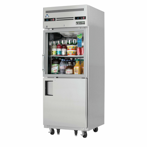 Reach-In Dual Temperature Refrigerator/Freezer Combo one-section