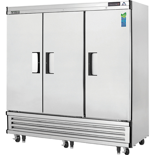 Reach-In Freezer three-section