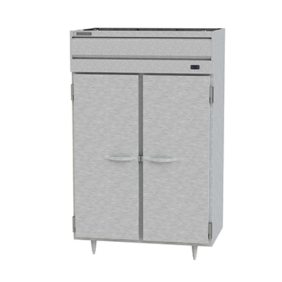 Two Section Solid Door Reach-In Heated Holding Cabinet