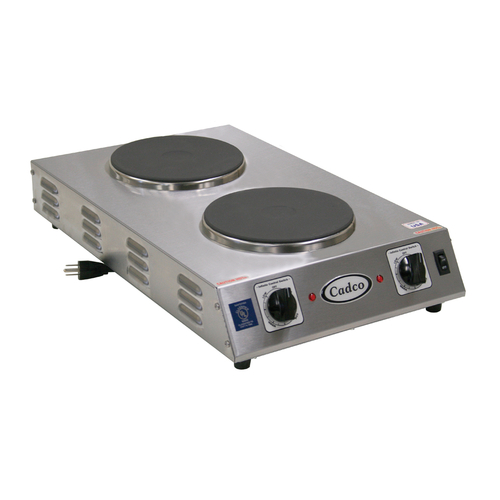 Cadco CDR-2CFB Hot Plate, 13-1/5